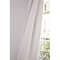 White 3-in-1 Soundproof Thermal Blackout Curtain MC720
