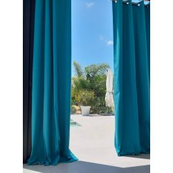 Dark Teal Gazebo Curtain Garden MC56