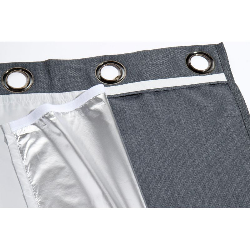 Silver Winter Metallized Thermal Lining MC0001