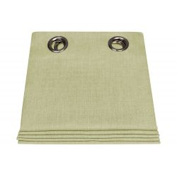 Outdoor Curtain Velum Euphorbe Green MC506 Moondream & Sunbrella®