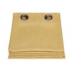 Outdoor Curtain Mild Honey Yellow MC242 Moondream & Sunbrella®