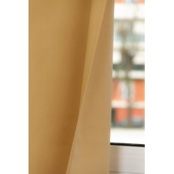 100% Total Blackout Curtain Revolution Ochre Yellow MC215