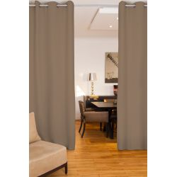 Light Brown Soundproof Room Divider Curtain MC8220