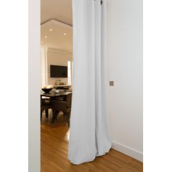 White Soundproof Room Divider Curtain MC720