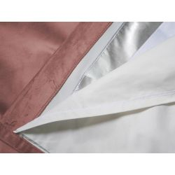 3-in-1 Soundproof Thermal Blackout Curtain Velvet Curtain Venise Dusty Pink MC343