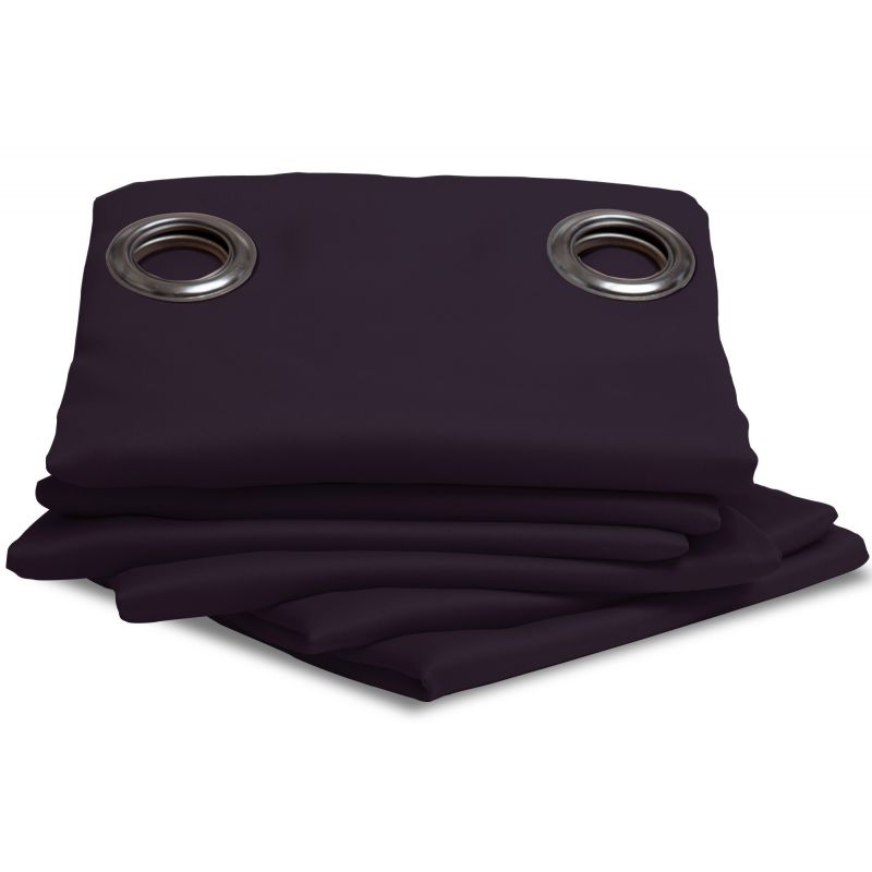 Purple Blackout Curtain MC333