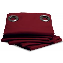 Deep Red Blackout Curtain MC330