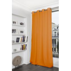 Orange Blackout Curtain MC230