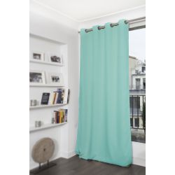 Turquoise Blue Blackout Curtain MC430