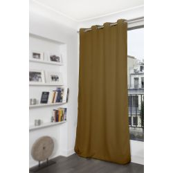 Brown Blackout Curtain MC623