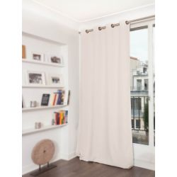 Eggshell Beige Soundproof Plus Curtain MC634