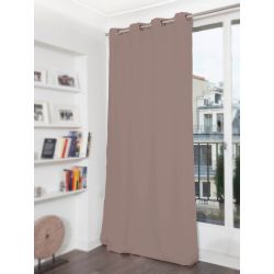Light Brown 3-in-1 Soundproof Thermal Blackout Curtain MC8220