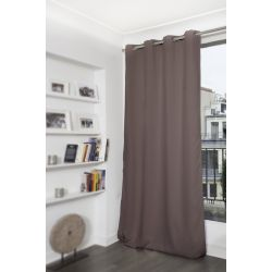 Warm Grey Thermal Blackout Curtain MC7305