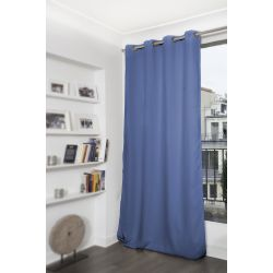 Blue Thermal Blackout Curtain MC666