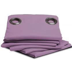 Purple Blackout Curtain Marshmallow MC407