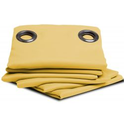 Yellow Blackout Curtain MC2194