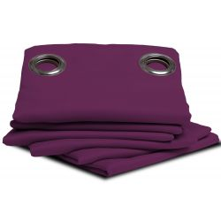 Purple Blackout Curtain Viola MC55