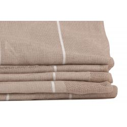 Beige Thermal Linen Sheer Bahamas MC721 Moondream Premium