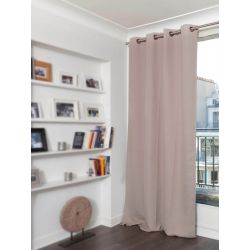 Beige Thermal Curtain Linen Effect Country Baby MC15