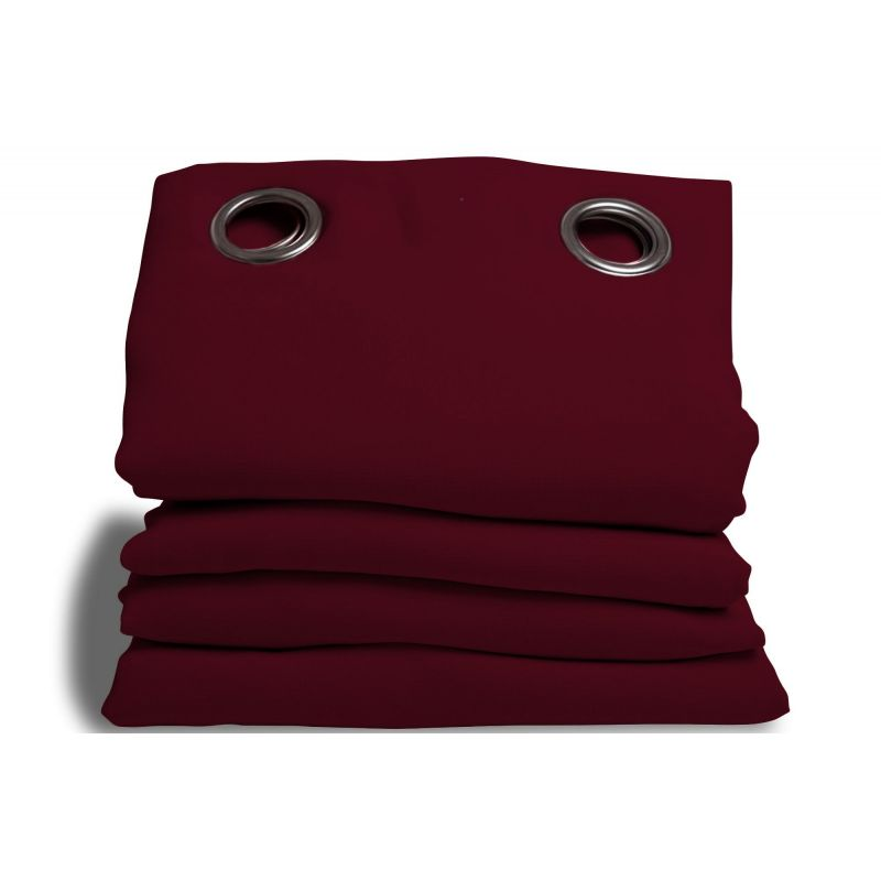 Deep Red Soundproof Plus Curtain MC330