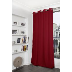 Deep Red Mosquito-Repellent Blackout Curtain MC330
