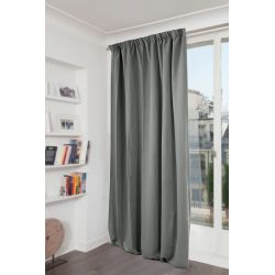 Moondream thermal curtain Feather
