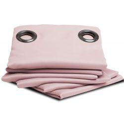 Dusty Pink Thermal Blackout Curtain MC343