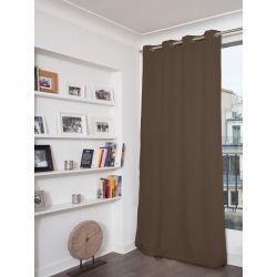 Brown Blackout Curtain MC10