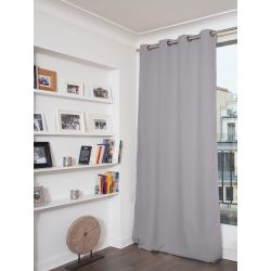 Grey Blackout Curtain MC16