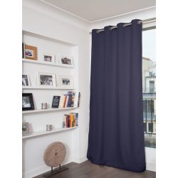 Midnight Blue Blackout Curtain MC12