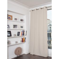 Light Grey Blackout Curtain MC17