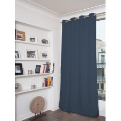 Blue Thermal Blackout Curtain MC458