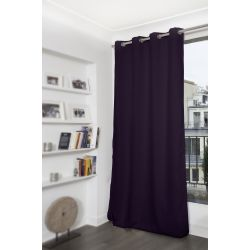 Purple Thermal Blackout Curtain MC333