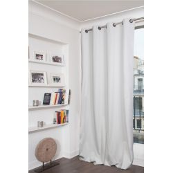 White 100% Total Blackout Curtain Colorado MC720
