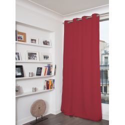 Fuchsia Pink 3-in-1 Soundproof Thermal Blackout Curtain MC327