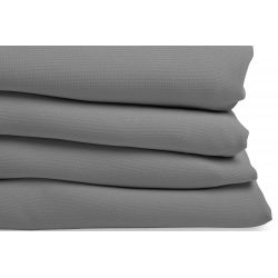 Mid Grey 3-in-1 Soundproof Thermal Blackout Curtain MC09