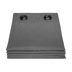 Dark Grey Thermal Curtain Everest MC713