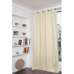 Eggshell Beige 100% Total Blackout Curtain Dream MC634