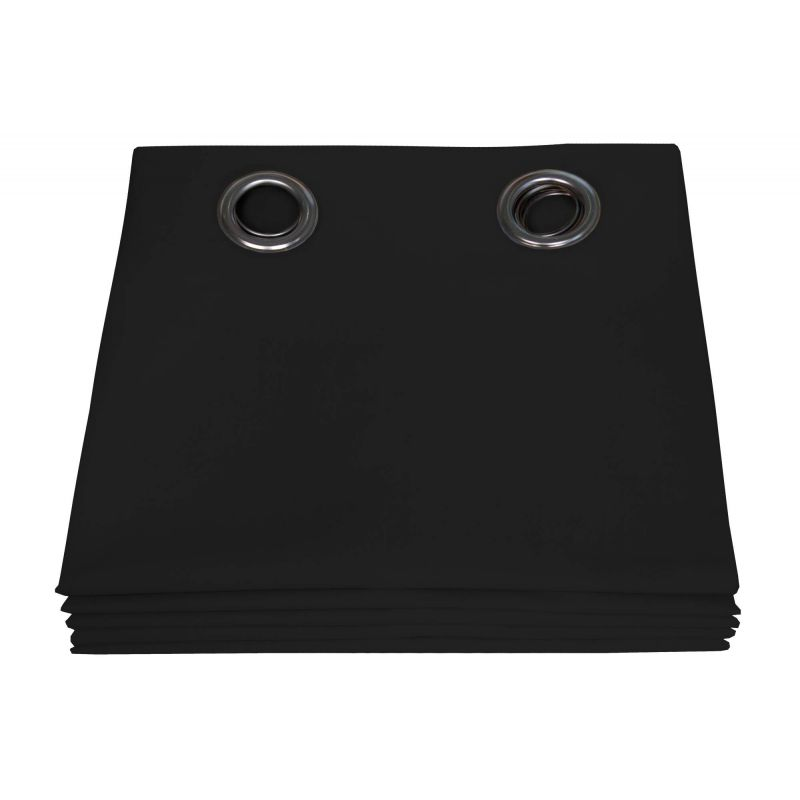 Black 100% Total Blackout Curtain Dream MC710