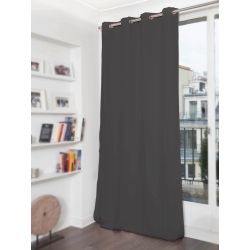 Anthracite Grey 3-in-1 Soundproof Thermal Blackout Curtain MC732