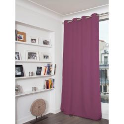 Purple 3-in-1 Soundproof Thermal Blackout Curtain MC119
