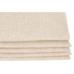 Washed linen Natural Beige Moondream Premium