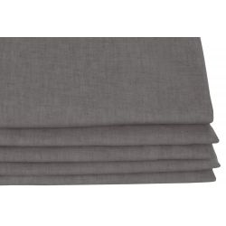 Dark Grey Thermal Curtain Washed Linen MC713 Moondream Premium