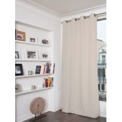 Light Grey 3-in-1 Soundproof Thermal Blackout Curtain MC17