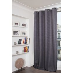 Dark Grey Dim-out Curtain Etna MC713