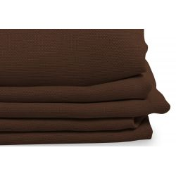 Brown Linen effect Dim-out Curtain Country Baby Log MC54