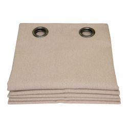 Beige Thermal Curtain Everest Darjeeling MC15