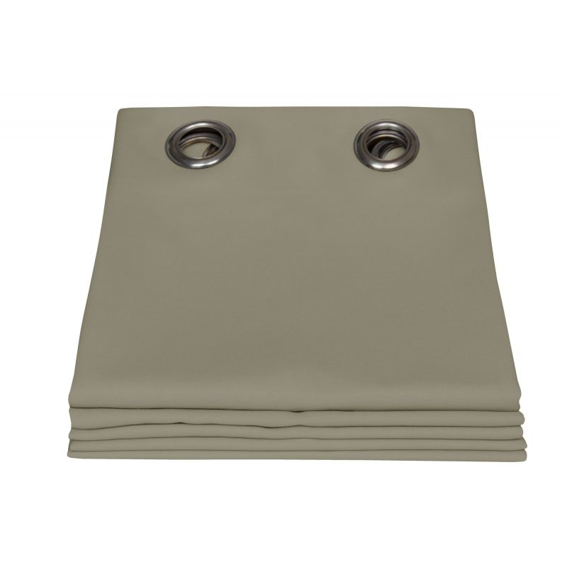Taupe Gazebo Curtain Garden MC740