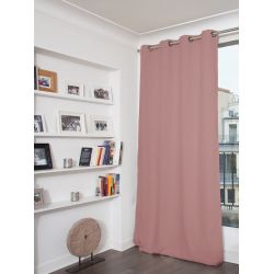 Dusty Pink 3-in-1 Soundproof Thermal Blackout Curtain MC343