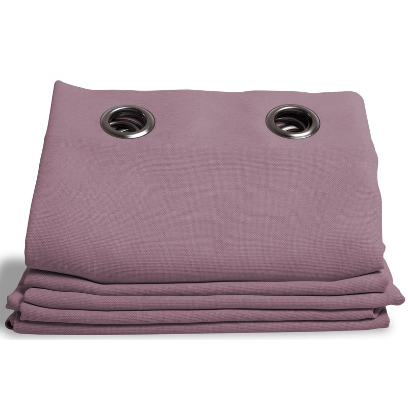 Lilac Linen effect Dim-out Curtain Country Baby MC41